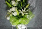White Roses & Lilies Beauty in Bouquet