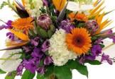 Flower Magic Multi-coloured Mix in Vase